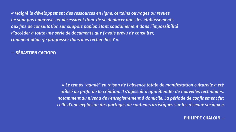 Sébastien Caciopo et Philippe Chaloin